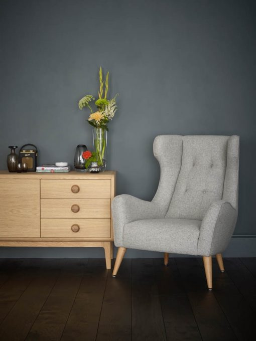 Living Room Model 4 Wingback with Sideboard lo res